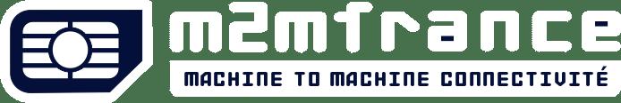 M2M France White Logo